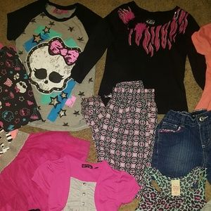 Size 7/8 Girls Clothing 25 items